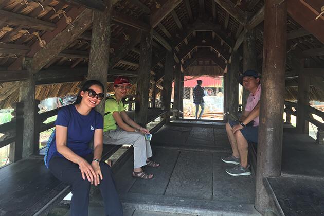 Bên trong Cầu Ngói Nam Định