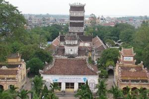 Du lịch Nam Định không thể bỏ qua chùa Cổ Lễ