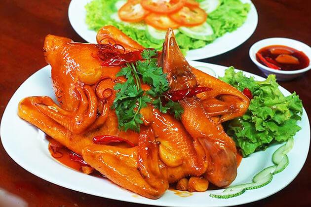 Khu ẩm thực đồng quê Nam Định