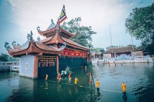 Làng rối nước cổ truyền Nam Định