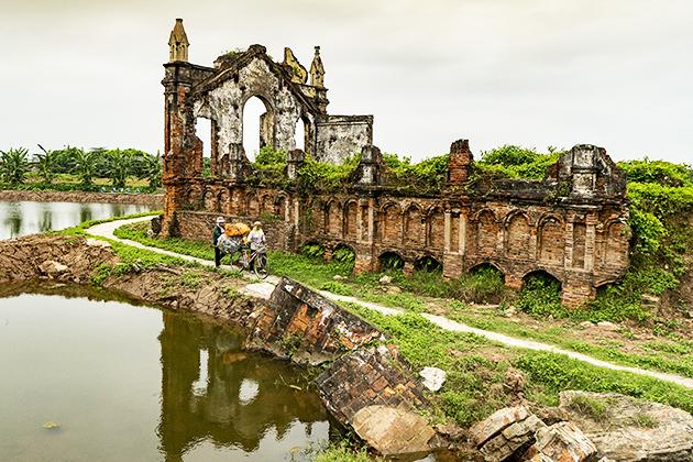Lịch sử hình thành nhà thờ đổ Hải Lý