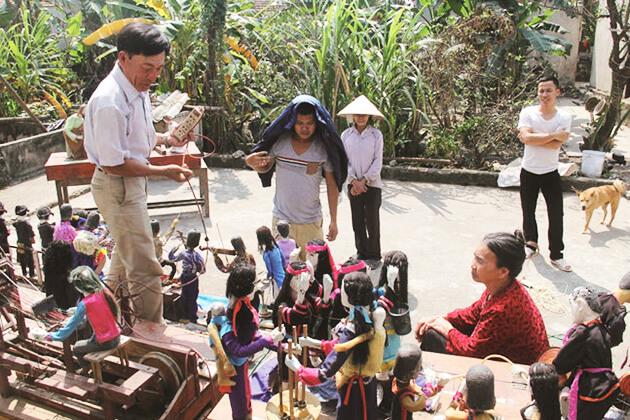 Nhà nghệ nhân rối nước Nam Định
