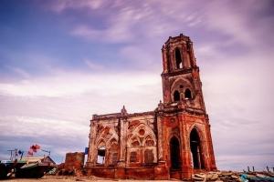 Nhà thờ đổ Hải Lý nổi tiếng Nam Định