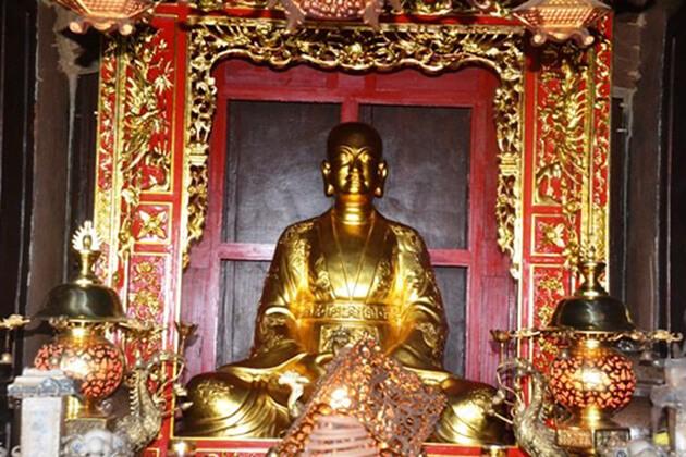 Sư tổ Nguyễn Minh Không người sáng lập chùa Cổ Lễ Nam Định