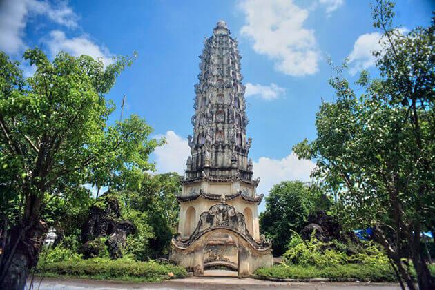 Tháp Cửu Phẩm Liên Hoa tại chùa Cổ Lễ Nam Định
