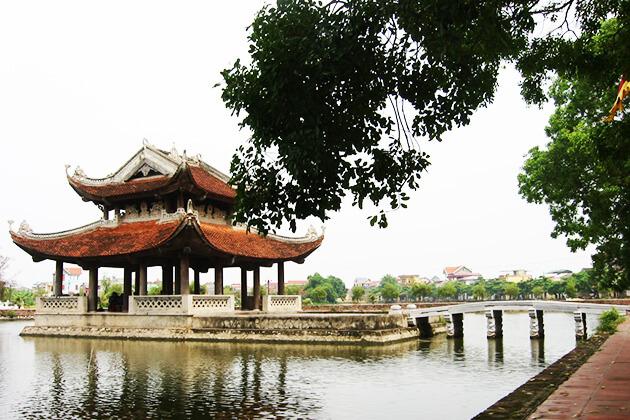 Thủy đình làng rối nước nổi tiếng Nam Định