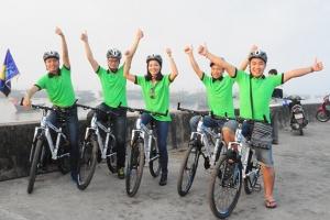 hành trình đạp xe ở Nam ĐỊnh