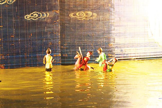 Múa rối nước đặc sắc Nam Định